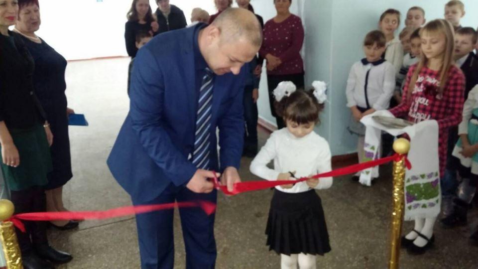 Урочиста церемонія відкриття та вручення символічного ключа від сучасної ресурсної кімнати