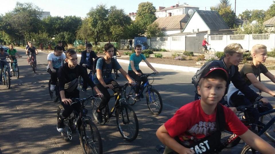 Велопробіг до Дня визволення району