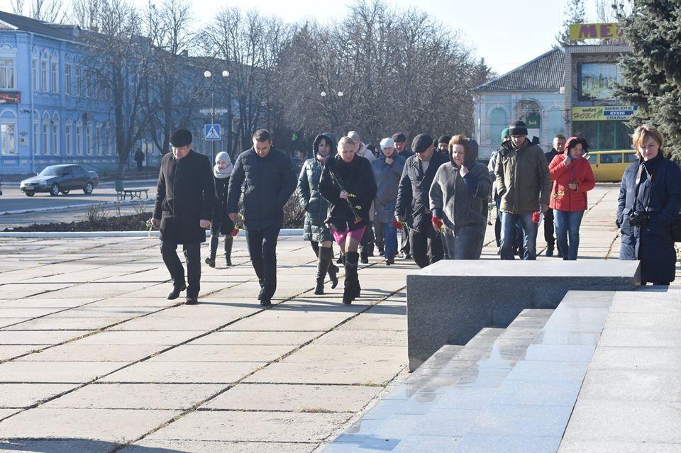 21 листопада відбулися урочистості з нагоди Дня гідності та свободи.