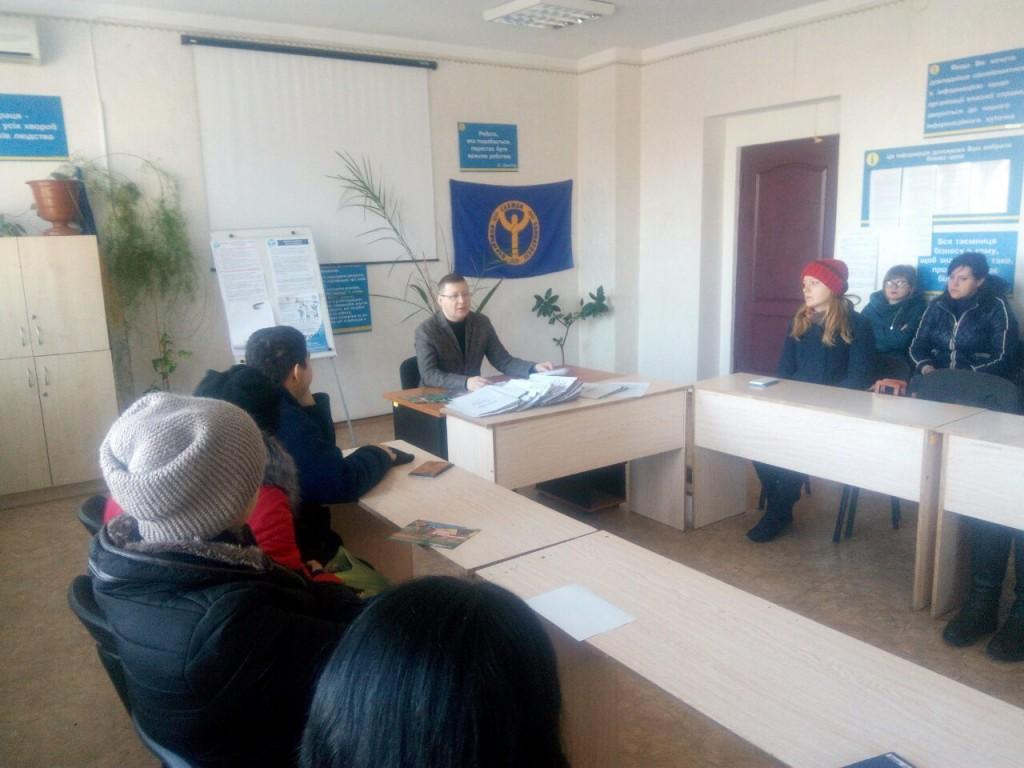 В Гуляйпільській районній філії Запорізького ОЦЗ проведено інформаційний захід для безробітних громадян