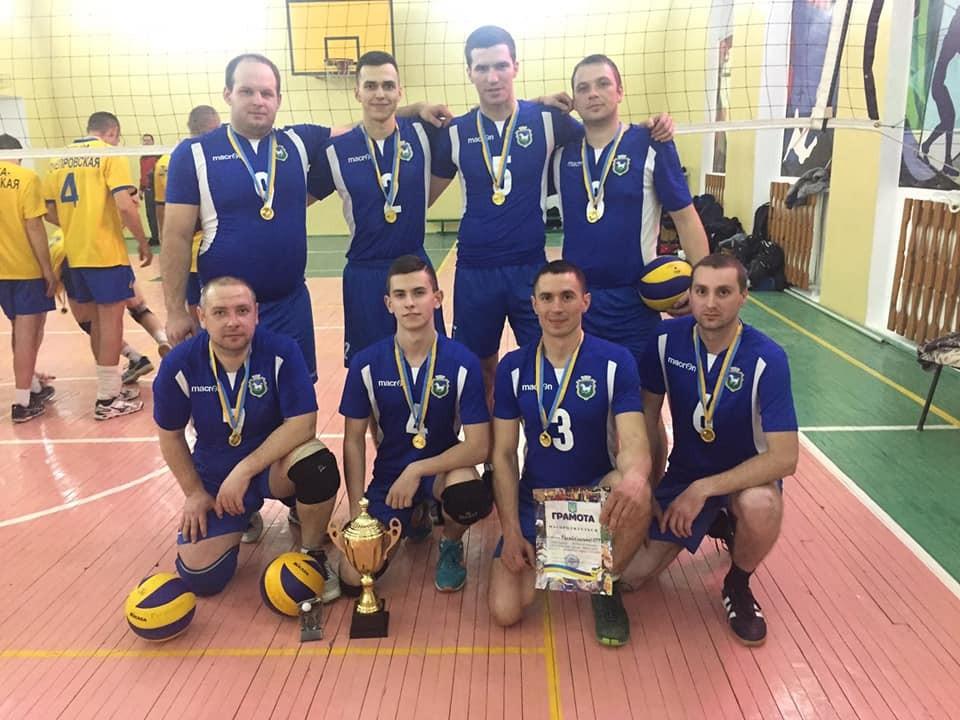 Команда Гуляйпільської МТГ - чемпіон області з волейболу!