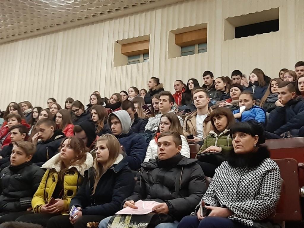 13 березня 2019 року в Малому залі КСК «Сучасник» відбувся захід для учнів «Акція випускник – 2019» частина ІІ